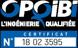 OPQIBI certificat qualité